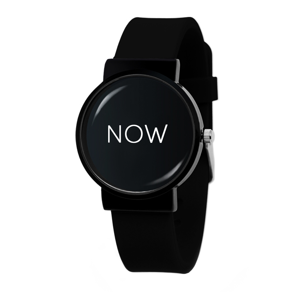 now-watch-black-colour