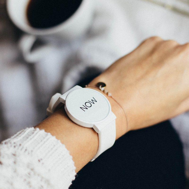 Now Watch White - Lifestyle Photo