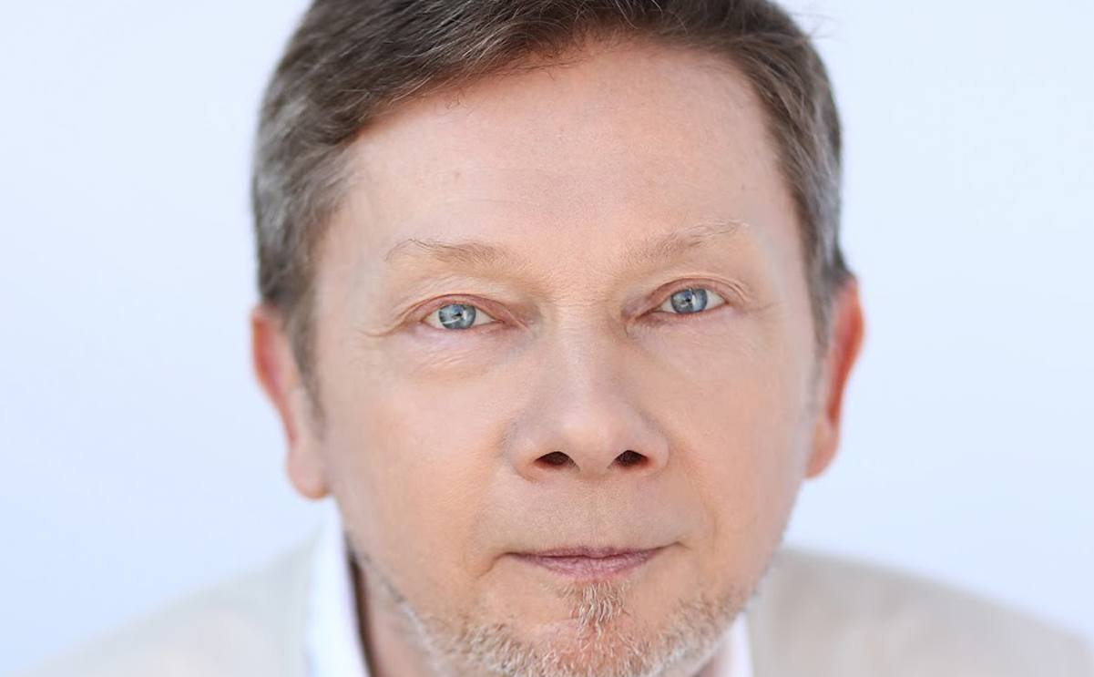 "Eckhart Tolle. The author of ""The Power of NOW"""