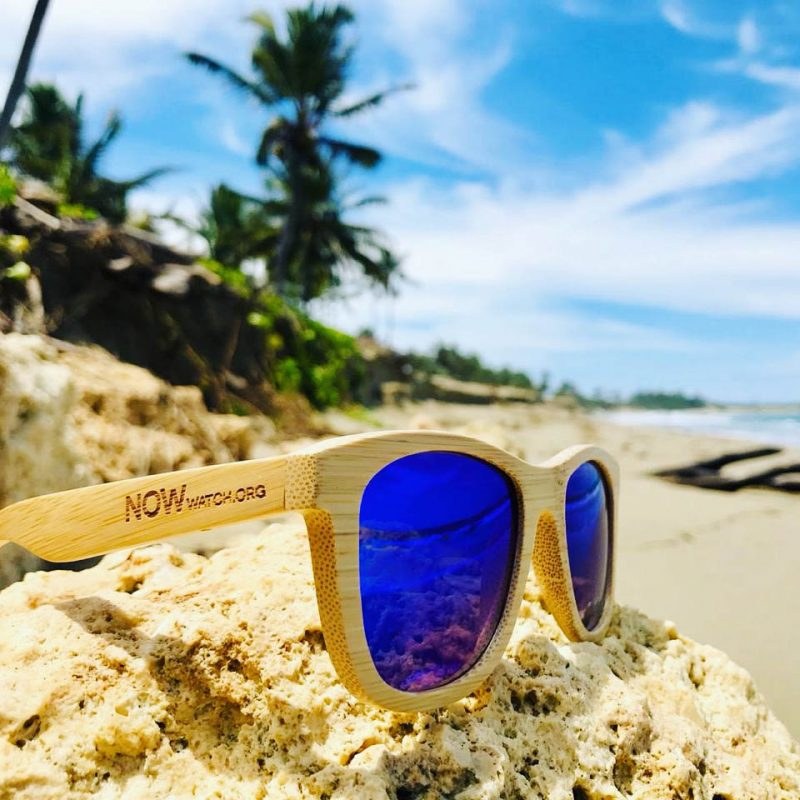 NOW Wooden Bamboo Sunglasses