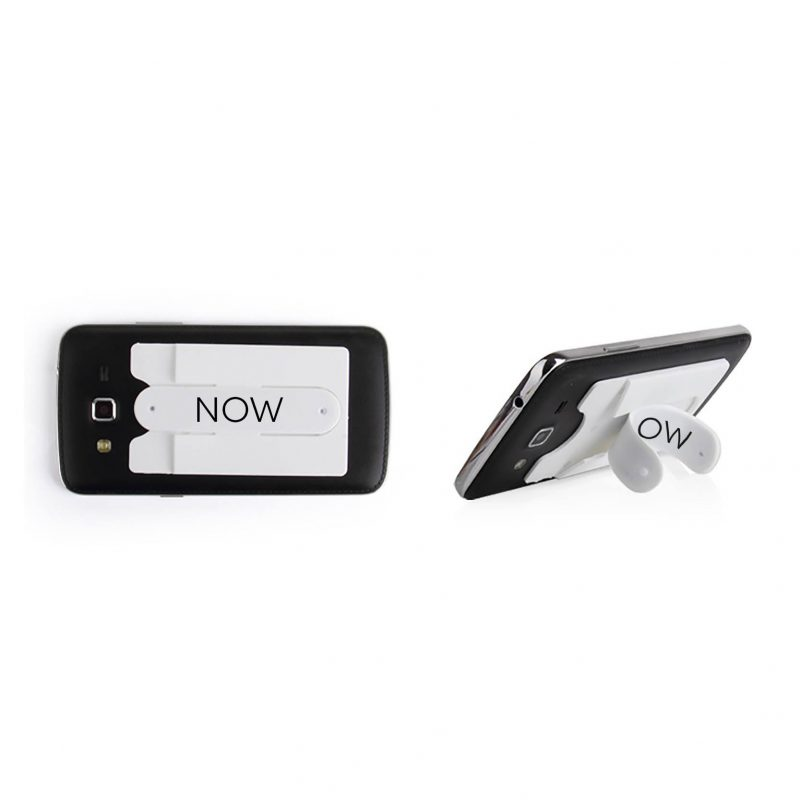 now phone card holder white