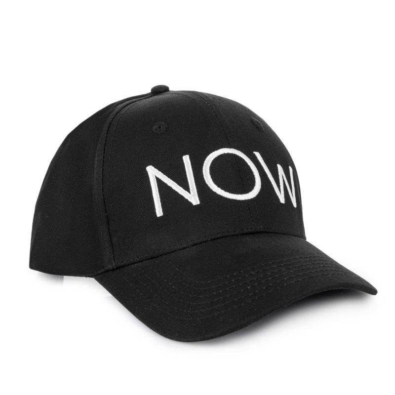 NOW cap white