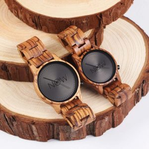 2 Wooden Watches - Man's and Woman's
