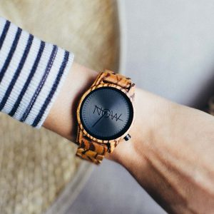 NOW Watch - Woman's Wooden Watch