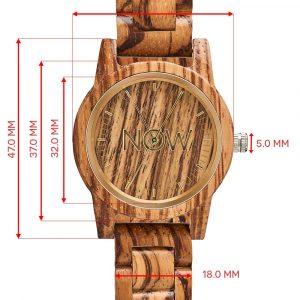 Sandalwood watch dimensions