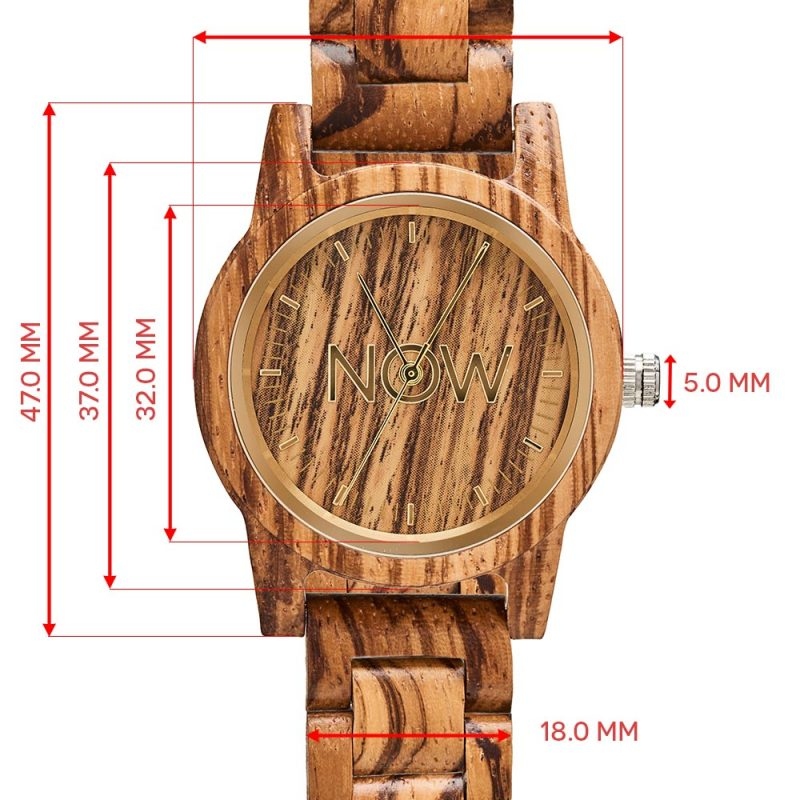 Sandalwood watch dimensions