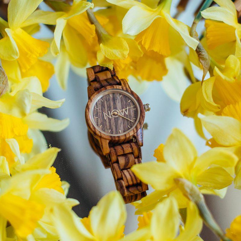 Sandalwood wood watch