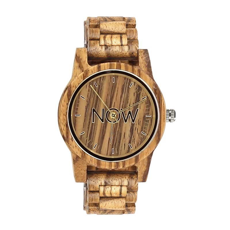 Wooden NOW Watch - Sandalwood best quality wood
