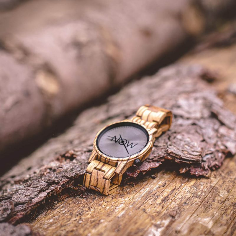 Wooden Watch - Now Watch outdoors photo