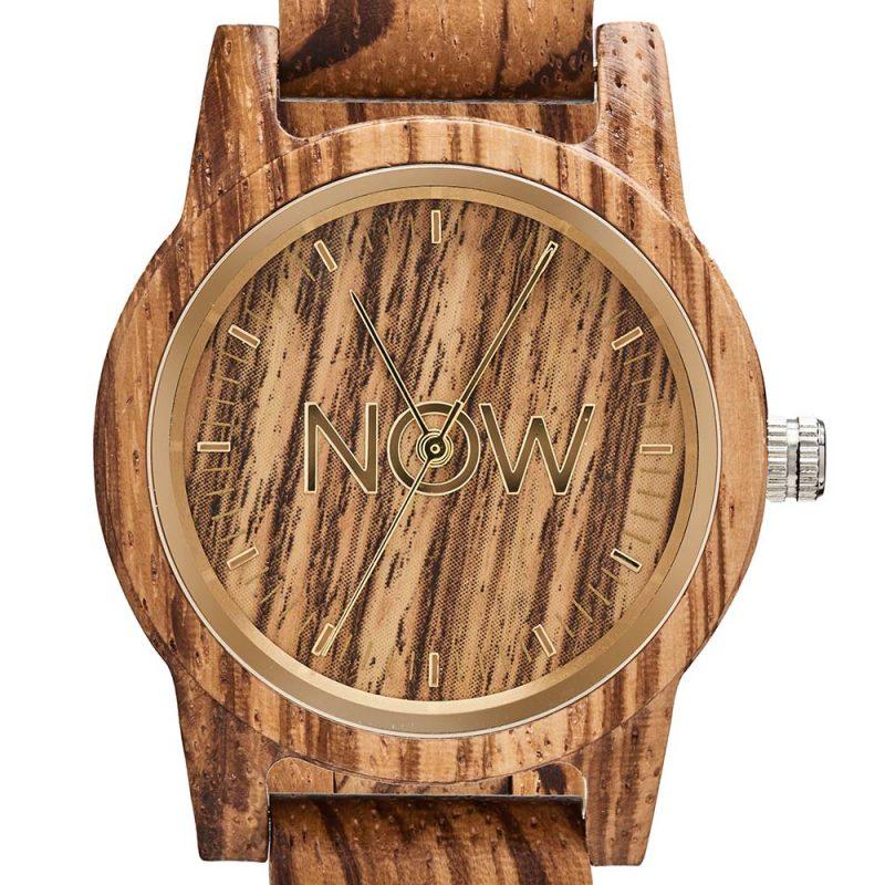 Wooden Watch - Sandalwood. Now Watch