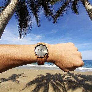 now watch zebra wood wooden watch