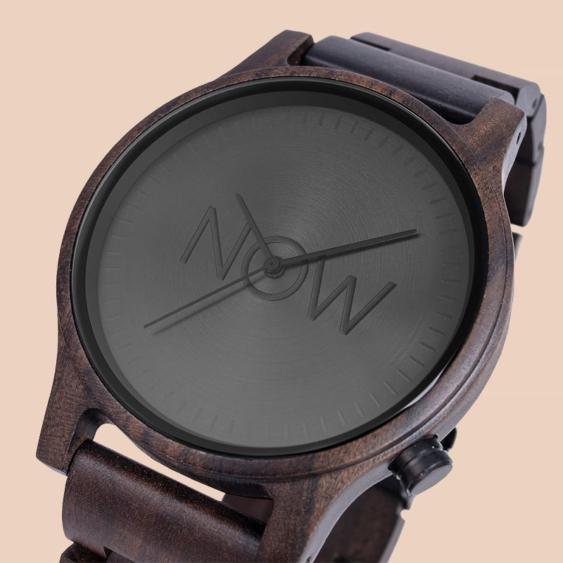 Black Sandalwood Watch close-up