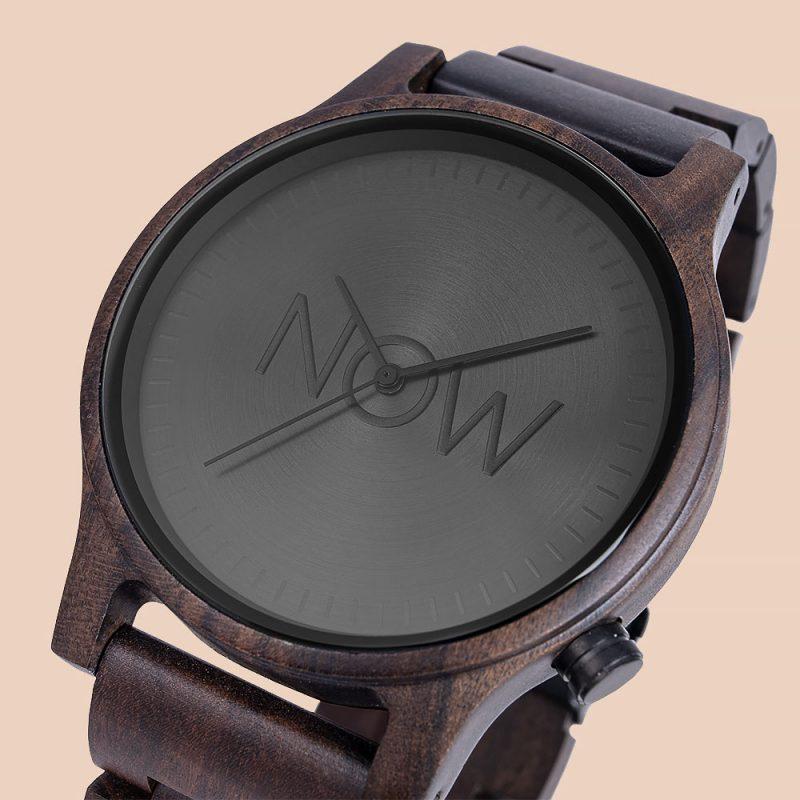 Black Sandalwood Watch close-up