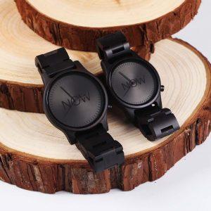 Now Watch Black Sandalwood Watches