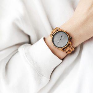 Now watch zebrawood - woman's watch
