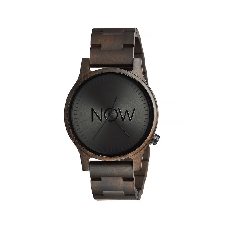 Wooden Now Watch - Black Sandalwood - Woman's Watch