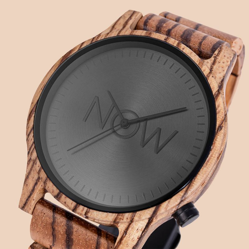 Zebrawood Watch close-up