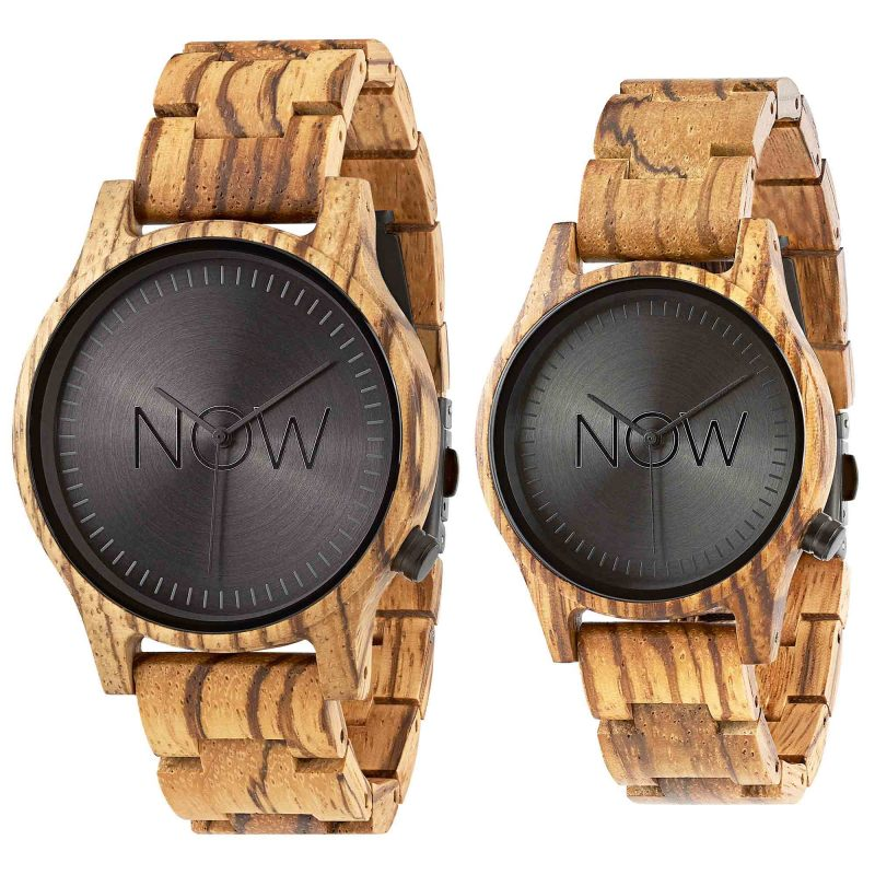 Wood Now Watch - 2 Zebrawood Wooden watches3