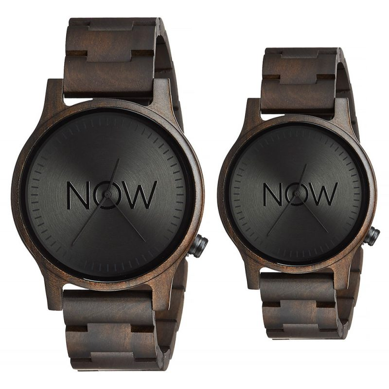 2 Wooden Now Watches - Black Sandalwood