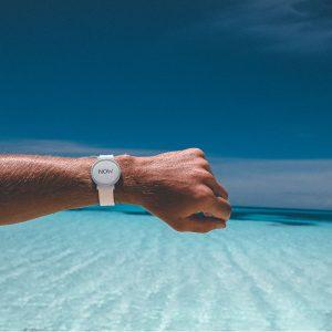 Now White Watch outdoor photo beach ocean