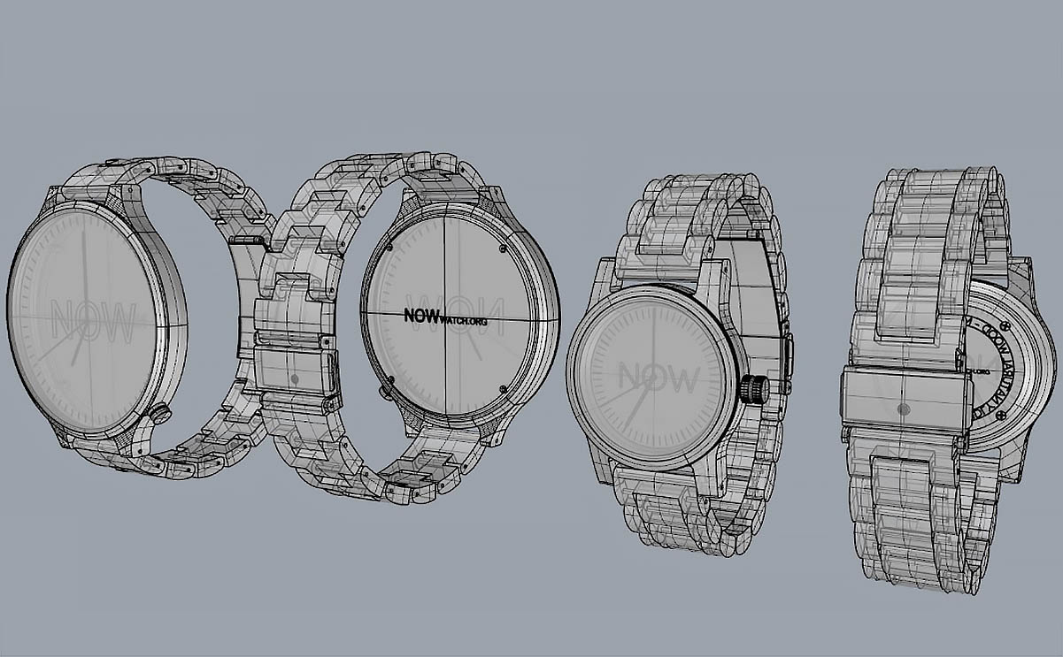 Different watches size design
