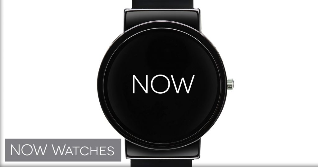 NOW Watches - watches that say NOW