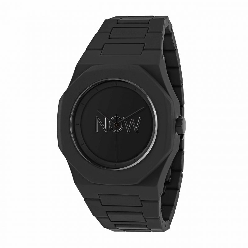 NOW Watch Black Polycarbonate Unmanifested Collection