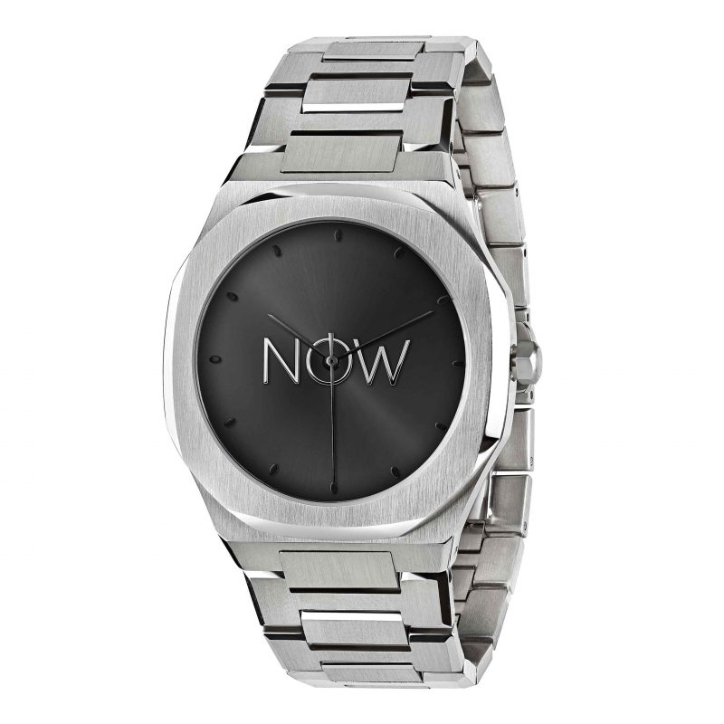 NOW Watch Silver Minimalistic Satainless Steel men's