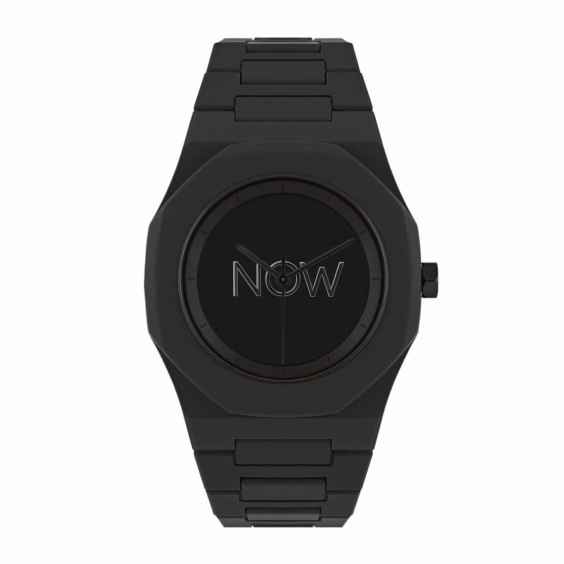 NOW Watch Unmanifested Black Polycarbonate Collection