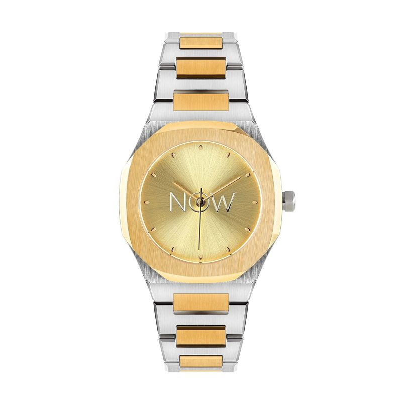 NOW Watch Silver & Rose Gold women's